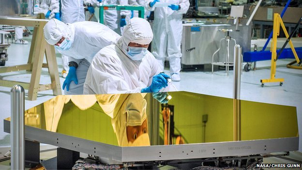 First James Webb Telescope Mirrors Delivered To Nasa Bbc