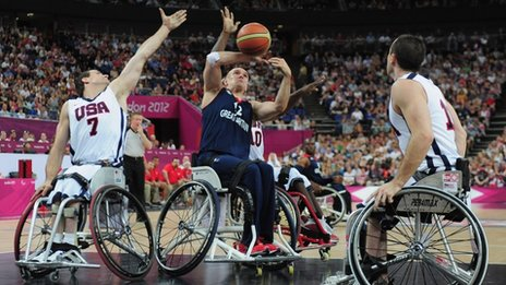 Olympic wheelchair basketball