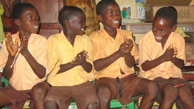 Ghanian pupils