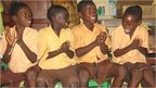 Ghanian pupils