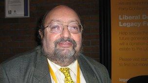 Lib Dem activist Philip Goldenberg