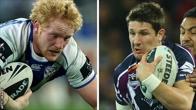 James Graham and Gareth Widdop