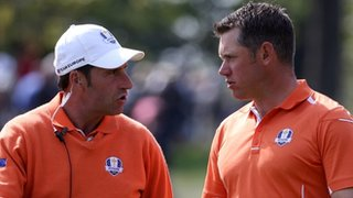 Jose Maria Olazabal &amp; Lee Westwood