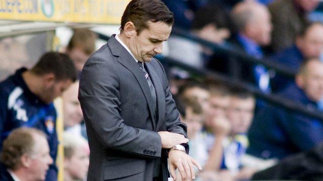 St Mirren manager Danny Lennonn