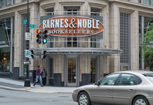 Barnes and Noble bookshop