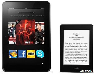 Amazon Kindle Fire HD and Kindle Paperwhite