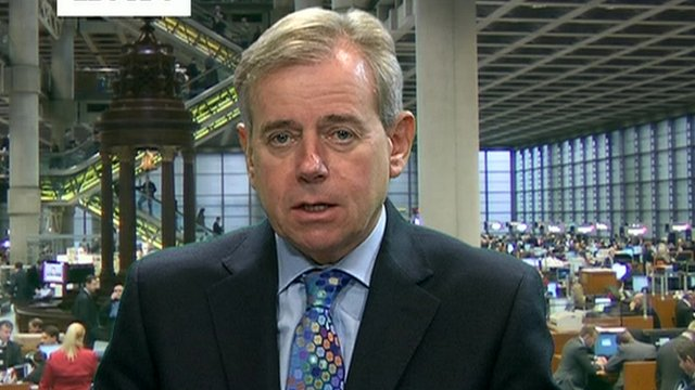 Lloyd&#039;s Chief Executive Richard Ward