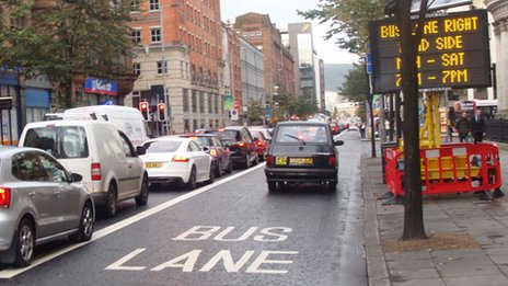 Bus lane