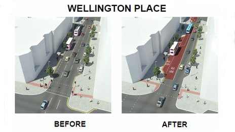 Wellington Place artists impression