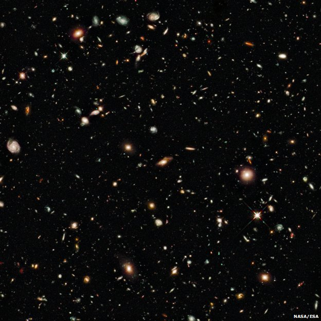 Hubble Space Telescope image of the Universe