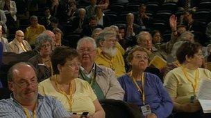 Lib Dem delegates