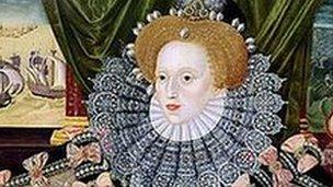 Armada portrait of Queen Elizabeth I