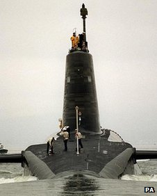 One of the Royal Navy&#039;s Trident submarines