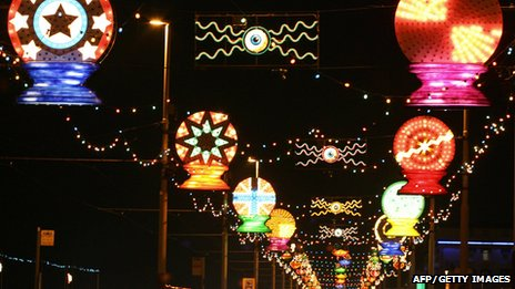 Blackpool Illuminations in 2005