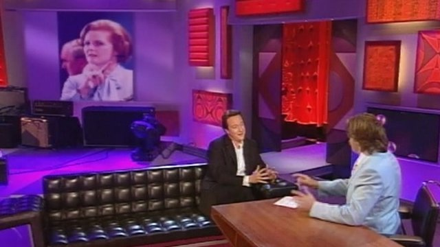 David Cameron on Jonathan Ross show