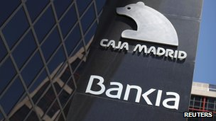 Bankia&#039;s headquarters in Madrid