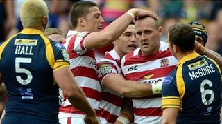 Wigan take on Leeds in the Challenge Cup semi-final