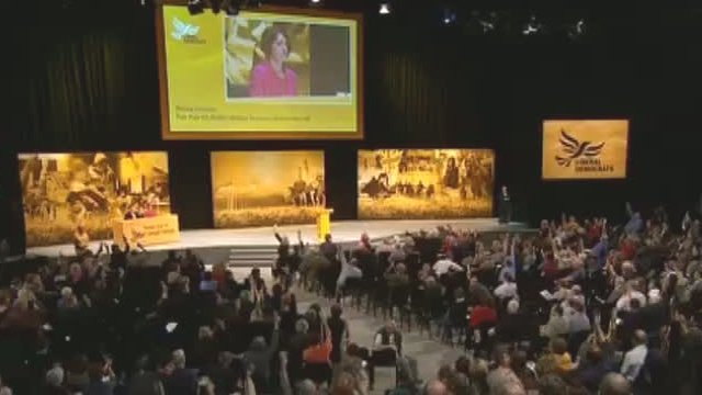 Liberal Democrat conference in Brighton 2012