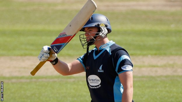 Sussex batsman Matt Machan will tour with Scotland