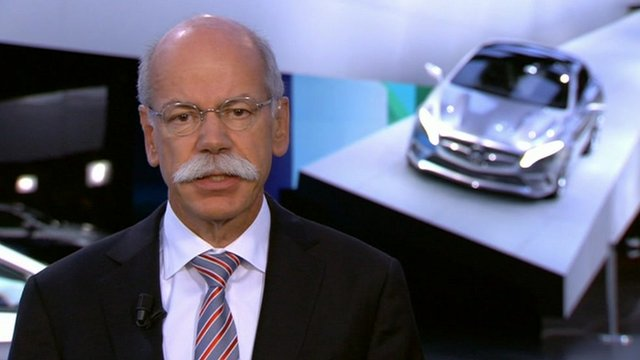 Daimler chief executive Dieter Zetsche
