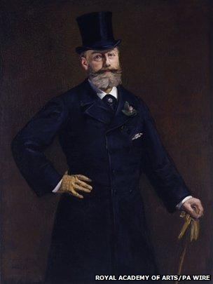Portrait of M. Antonin Proust. 1880 by Edouard Manet