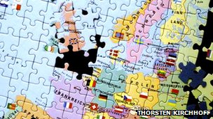 Jigsaw map of Europe (Thorsten Kirchhoff, CC BY)