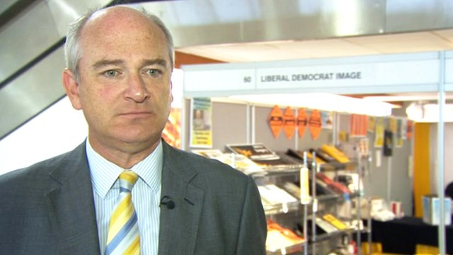North Devon MP Nick Harvey