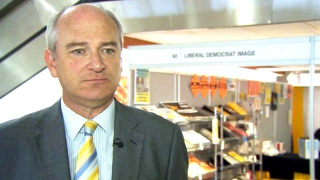 North Devon MP Nick Harvey