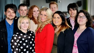 The first nine apprentices graduate from Pacific Quay