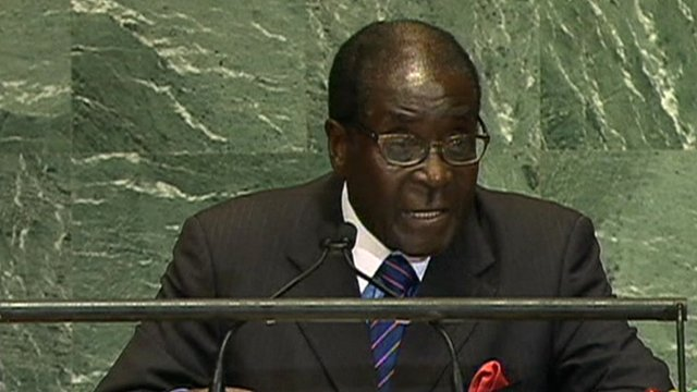 Robert Muagbe at the United Nations