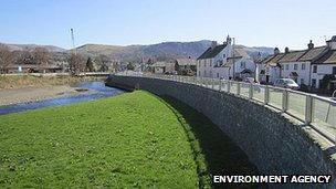 Keswick flood defences