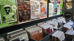 Records at Selectadisc