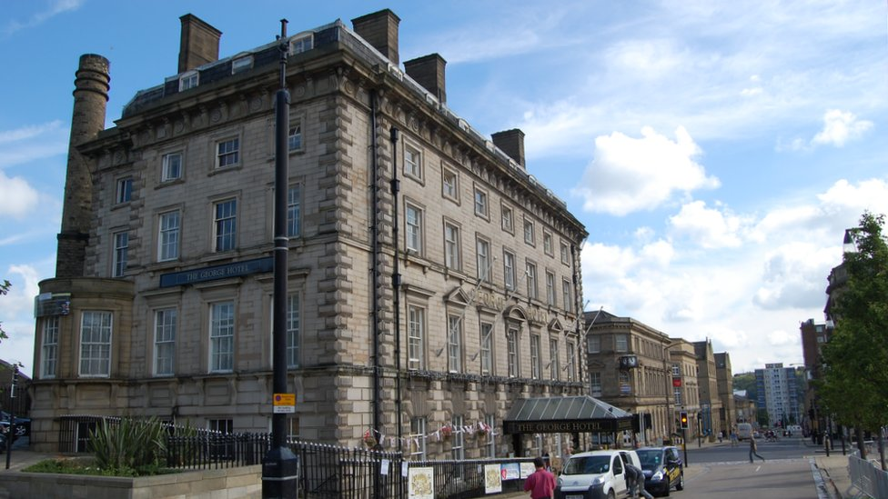 Bbc News In Pictures Huddersfield 39 S Listed Buildings
