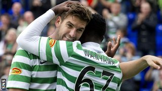 Charlie Mulgrew and Victor Wanyama