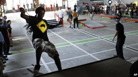 Lil Wayne has built a skate park in New Orleans - BBC Newsbeat
