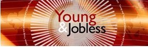 Young and jobless graphic