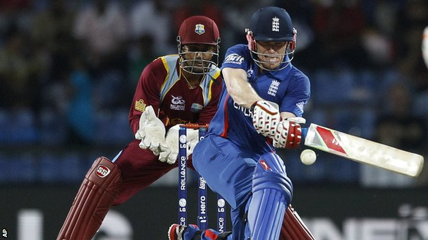 Eoin Morgan scored 71 from 36 balls