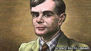 Drawing of Alan Turing