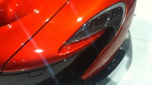 McLaren headlight