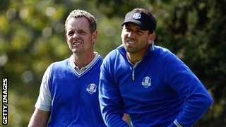Luke Donald and Sergio Garcia