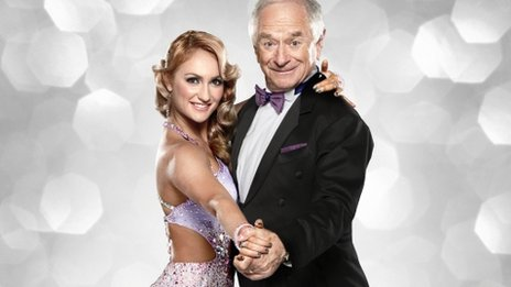 Aliona Vilani and Johnny Ball