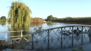 Floods in Cawood