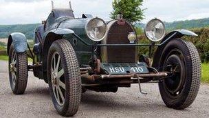 Replica Bugatti Type 51