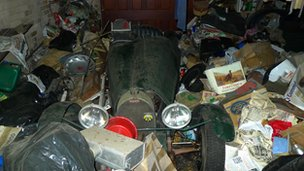 Replica Bugatti Type 51 discovered in a garage