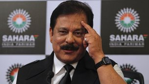 Sahara group chairman Subroto Roy