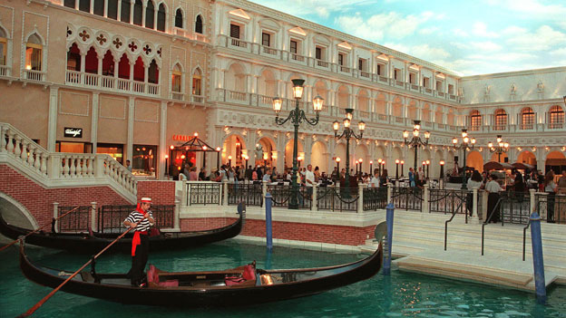 The Venetian casino in Las Vegas