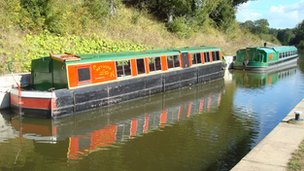 Barges at Loxwood