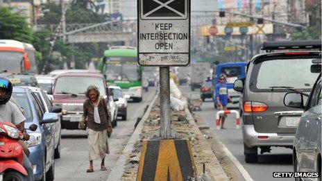Manila traffic