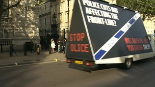 Police Federation protest