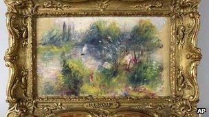 Paysage Bords de Seine by Pierre-Auguste Renoir